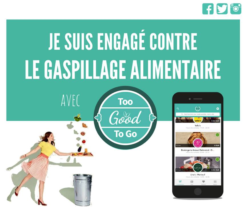 Regain s'engage contre le gaspillage alimentaire !